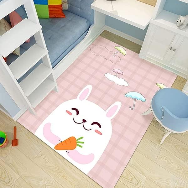 JIFAN Princess Room Rug Girl Room Decoration Carpet Baby Crawling Mat Children Rug Preschool Children S Room Lovely Game Pad Child Like Carpet Area Rug Birthday Present For Kindergarten Nursery