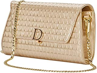Best champagne leather clutch bag Reviews