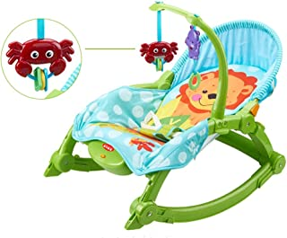 ALUA- Balance Bouncers Appease Chair Newborn Cradle Bed Electric Rocking Chair Infant-to-Toddler Rocker with Music Toy