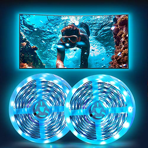 Led Strip Lights, HOKEKI Neon Lights, Led Lights for tv, Lights forbedroom, 32.8in Smart Lamp, with Remote Control, 7 Lighting Effects, with Waterproof Design, Suitable ForTv, Party, Home Decoration