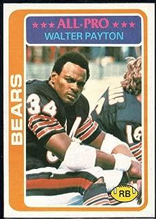 Football NFL 1978 Topps #200 Walter Payton UER Bears