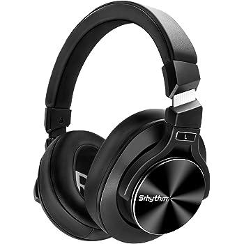 Cuffie Wireless Bluetooth 5.0 Cancellazione Attiva del Rumore,Srhythm NC75 Pro ANC Over Ear con CVC8.0 Microfono Stereo Hi-Fi,Carica Rapida, 40 ore di Lavoro,per iPhone/Android/PC/TV