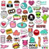 Cute Water Bottles Stickers for VSCO Girls(44 Pack) - Laptops Sticker for Teens Feminist - Aesthetic Trendy Waterproof Vinyl Sticker Pack for Hydro Flask Tumbler Cameras Phone Luggage Graffiti Decal #1