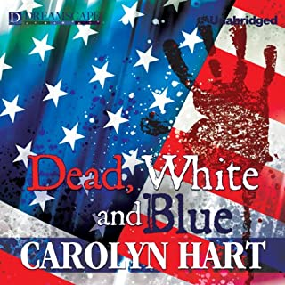 Dead, White, and Blue audiobook cover art