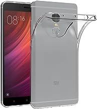 AICEK Funda Transparente Gel Silicona Premium Carcasa para Xiaomi Redmi Note 4