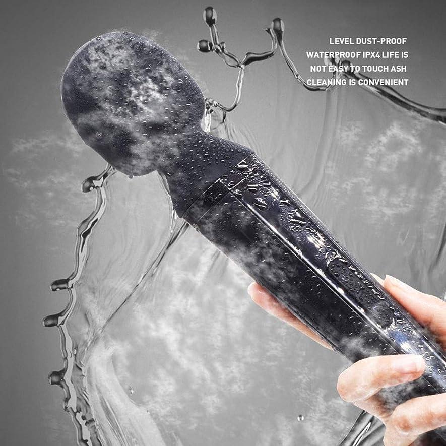 団結する者ニュージーランドパーソナル充電式防水マッサージャー、強力なコードレスワンドマッサージャー、ハンドヘルマルチスピードセラピーボディマッサージ