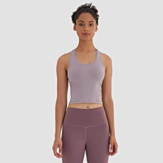 Sports Vest Ladies Running Fitness T-Shirt Sexy Crop Top Workout Quick-Drying Yoga Vest Elastic Tight Workout Clothes