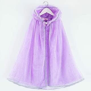 Zerayo Girls Hooded Cloak Princess Unicorn Costume Cape Pretend Play Dress up