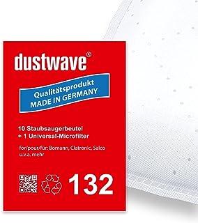 Pack de ahorro–10bolsas para aspiradoras Fagor–VCE 140/VCE140–Aspiradora–dustwave® Premium Calidad–Fabricado en Alemania
