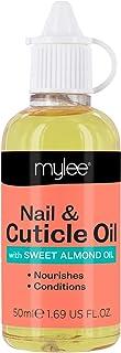 Mylee 50ml Aceite de Albaricoque Reparador de Uñas y Cutículas Aceite Profundamente Hidratante y Nutritivo Fórmula No Gr...