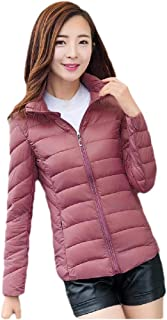 Howely Women Outwear Plus Size Stand Collar Casual Puffer Winter Coat