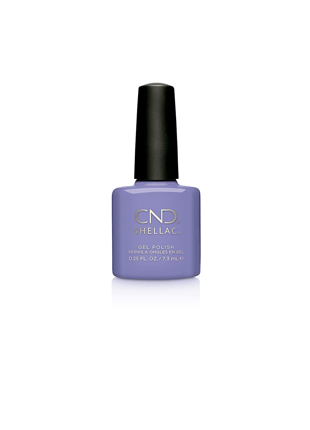 として収束する削除するCND Shellac Gel Polish - Wisteria Haze - 0.25oz / 7.3ml