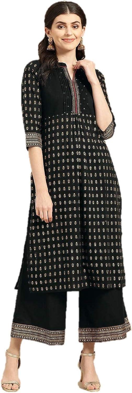 MJRN High quality new Ready To Genuine wear Indian Kurta Women For with Kurti Set Palazzo