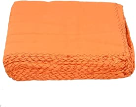 Sajani Premium Quality Orange Cloth Duster Wet & Dry Cotton Cleaning Cloth Use for Kitchen, Glass, Motorcycle, Bike, Mirror, Tile Etc. Size 19X19 Inches (Pack of 6)