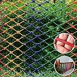 LANGYINH Red de Escalada para niños Al Aire Libre Formación Proteccion Red de Cuerda Selva Estadio Al Aire Libre Jardín de Infancia Play Set Red de Color,3x6M