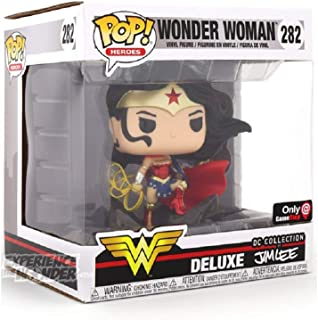 Funko Pop Dc Comics Wonder Woman Jim Lee Deluxe 282 Exclusive Vinyl Figure