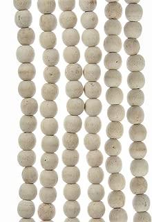 Best white wooden ball garland Reviews