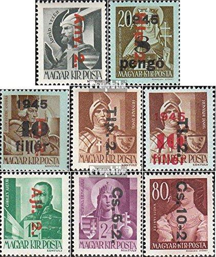 Prophila Collection Ungarn 862-869 (kompl.Ausg.) 1946 Freimarken (Briefmarken für Sammler)