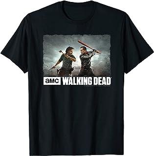 The Walking Dead Rick & Negan Face Off Camiseta
