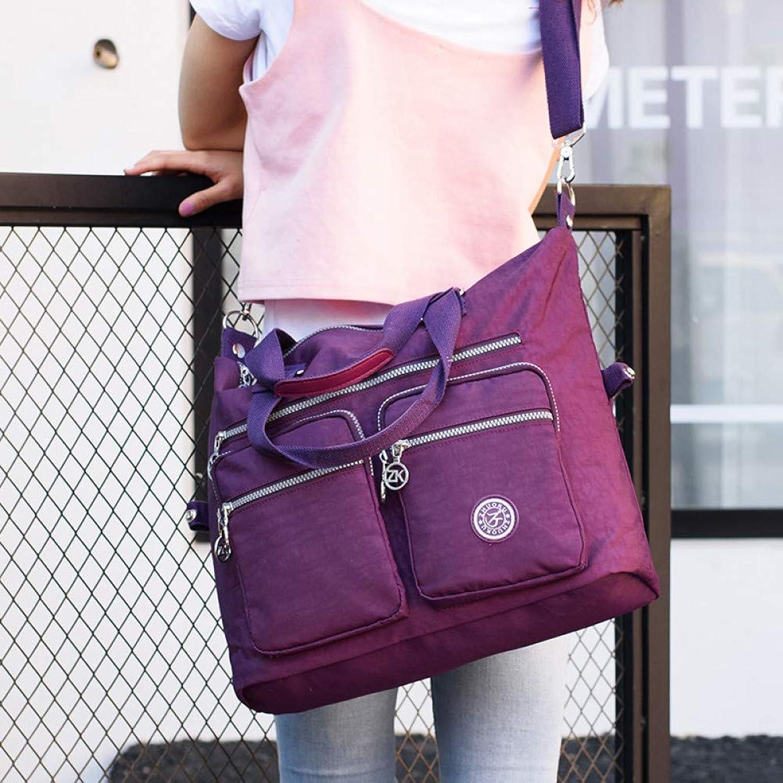 JQSM Women -Handle Shoulder Bag Luxury Handbags Designer Nylon Messenger Bags Beach Casual Tote Female Purse Sbody Bags