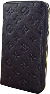 Women Credit Card Holder Large Capacity Genuine Leather Designer Wallet Lady RFID Blocking Clutch 27 Slots