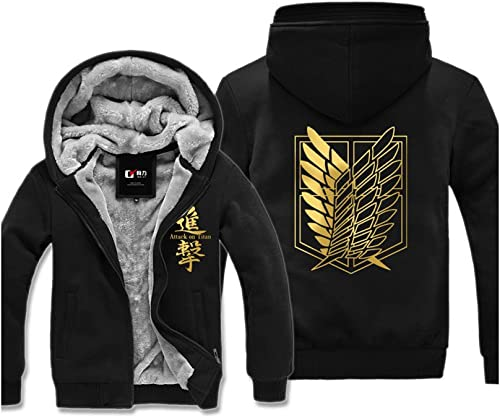 Attack on Titan Winter Hoodie mit Kapuze