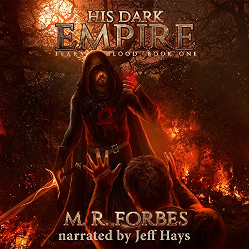 His Dark Empire audiobook cover art
