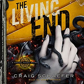 The Living End audiobook cover art