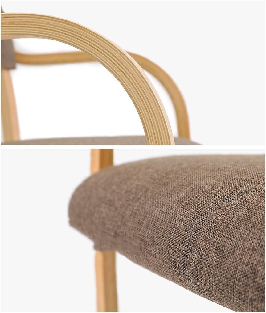 SLL- Dossier de Chaise en Bois Massif Moderne (Color : D) C