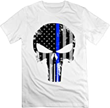 Blue Line Punisher USA Men's Sport Shirts for Male
