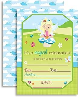 Magical Fairy Princess Birthday Party Invitations, 20 5