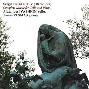 Prokofiev: Complete Music for Cello and Piano