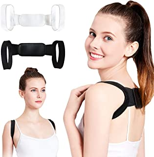 QZ Back Posture Corrector Clavicle Back Support Correction Back Straight Shoulders Brace Strap with Velcro for Adult Chilren