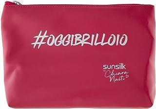 Sunsilk Pochette by Chiara Nasti con Trattamento Completo per Capelli Brillanti senza Effetto Crespo
