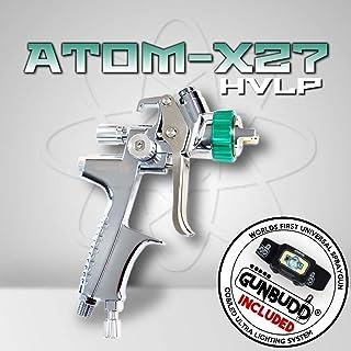 Atom X27 Professional Spray Gun - HVLP Solvent/Waterborne (1.4 mm) with Free GUNBUDD!!