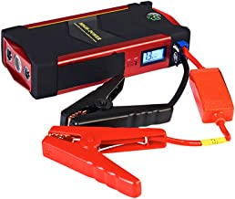 CAPTIANKN Car Jump Starter 600A Peak 18000Mah With USB Quick Charge (Up To 6.0L Gas Or 3.0L Diesel Engine), 12V Portable Power Pack Auto Battery Booster Phone Charger Built-In LED Light