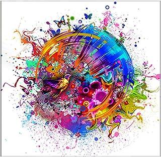 Peinture À l'huile 100% Peinte À La Main sur Toile,Wall Art Pictures Colorful Bird Canvas Prints and Posters for Living Ro...