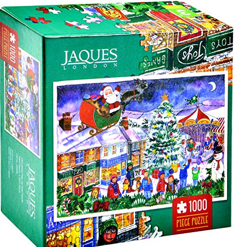 Jaques of London Christmas Jigsaw Puzzle 2018 - Christmas Fair Puzzle - Jigsaw 1000 Piezas -