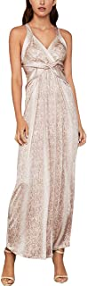 BCBGMAXAZRIA Women's Criss-Cross Python Dress