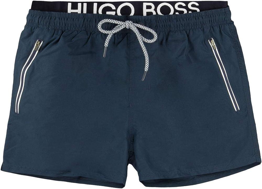 Boss thornfish , costume da bagno a pantaloncini per uomo , BLU, 100% poliestere 50407646