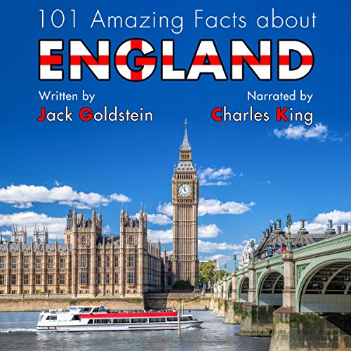101 Amazing Facts About England audiobook cover art