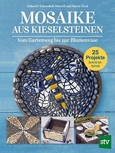 Mosaike aus Kieselsteinen: Vom Gartenweg bis zur Blumenvase