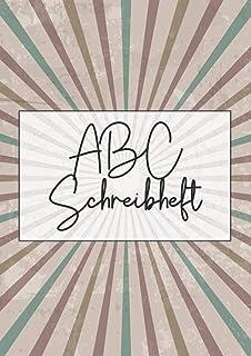 ABC Schreibheft: Vorschulheft für Kinder ab 5