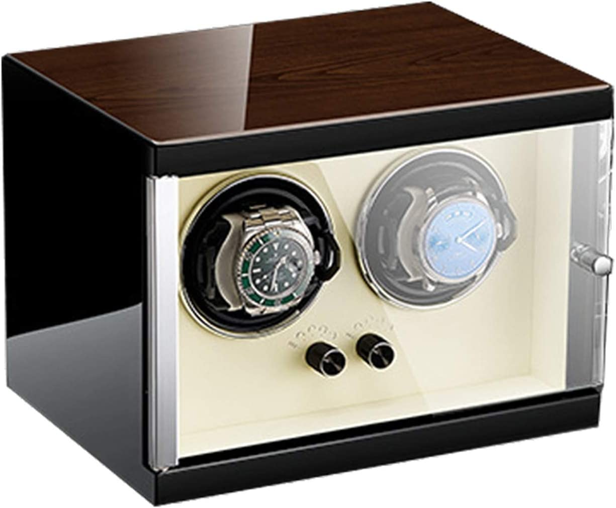 ZCXBHD Dedication Double Automatic Watch Winder Frame Silen Max 90% OFF Extremely Metal