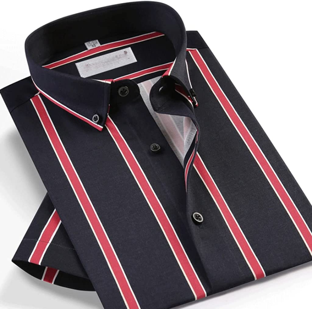 JJZXC Men's National uniform free shipping Summer Style Short Striped Ranking TOP18 Casual Multi-Color Sleeve
