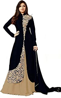 Lasha Creation Semi Stiched EMBROIDERY Salwar Suit