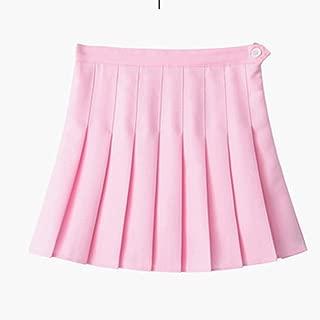 Women High Waist Cosplay Skirt New Spring Summer Kawaii Denim Solid A-Line Sailor Skirts Japanese School Uniform Mini Skirts