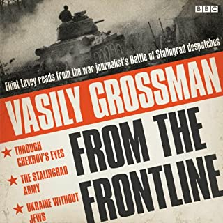 Vasily Grossman from the Front Line audiobook cover art