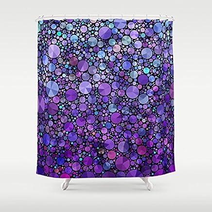 Purple Appetite Shower Curtain