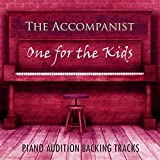 The Perfect Nanny (From the Musical 'Mary Poppins')[Piano Audition Backing Track in D]